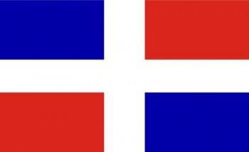 Dominikanische Republik ohne Wappen