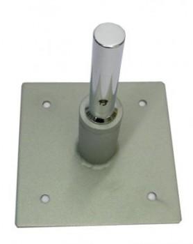 Bodenplatte zum Anschrauben - Bodenfläche 12 x 12 cm