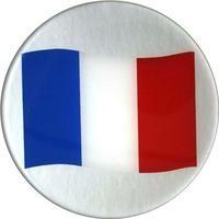 3-D Label Frankreich