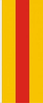 Bad. Hochformatfahne ohne Wappen