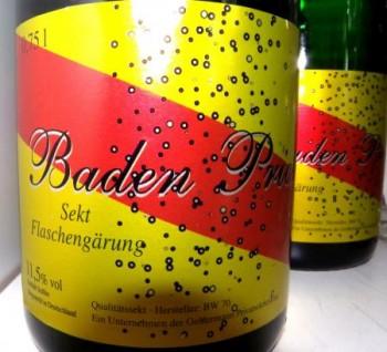 Sekt Baden Prickelt  0,75 Liter - Grundpreis: 10,40 Euro pro Liter