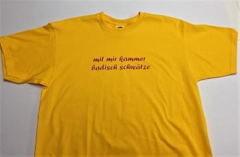 Qualitäts-Shirt Spruch Mit mir kammer