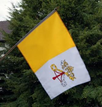 Stockfahne Vatikan