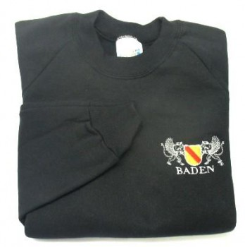 Sweat-Shirt mit Wappen Baden