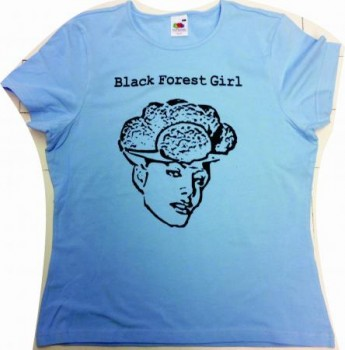 T-Shirt Black Forest Girl