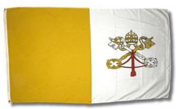 Fahne Vatikan