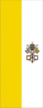 Hochformatfahne Vatikan 120x300