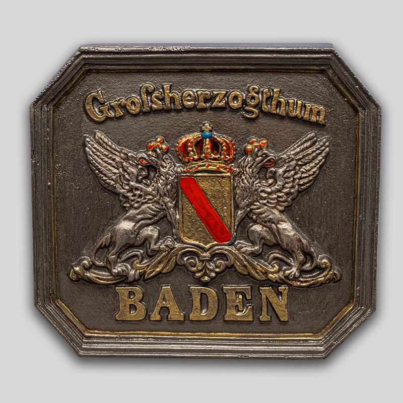 Pin Anstecker Gro/ßherzogtum Baden Schild Wappen