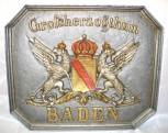 Grenztafel Großherzogthum Baden