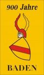Historische Flagge 900 Jahre Baden