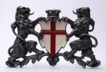 Freiburg Wappen mit Löwen