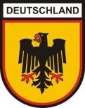 Deutschland mit Wappen