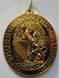 Badner - Medaille mit Greif