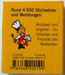 Lilliput badisch - Buch - Wörterbuch Übersetzung ins Hochdeutsche