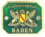 Türschild Großherzogthum Baden
